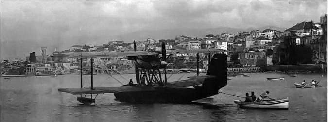 Beirut Orient Seaplane 1930