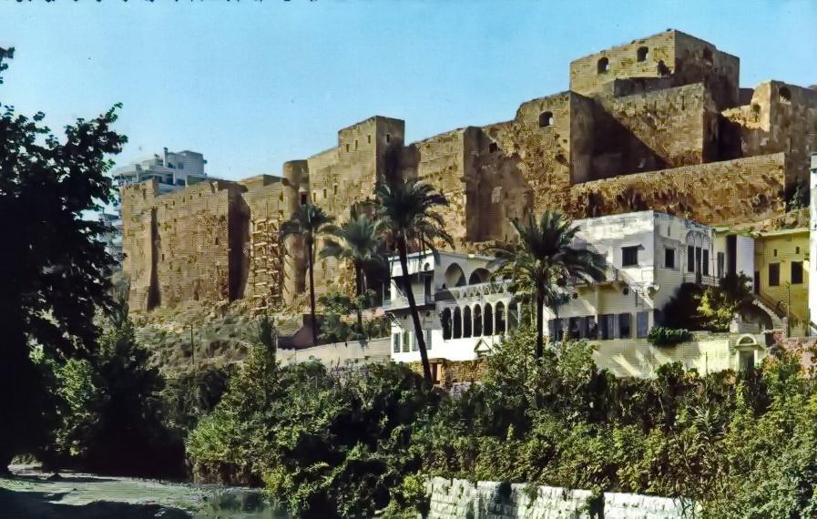 Tripoli St.Gilles Castle 1950
